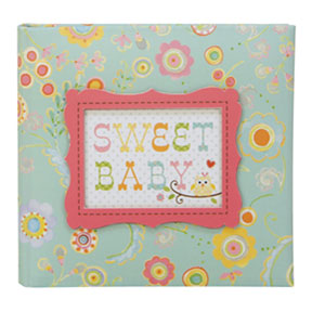 Happi Baby Girl Compact Owl Photo Journal Album