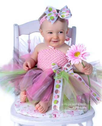 Birthday Cupcakes Baby Boutique Tutu Dress