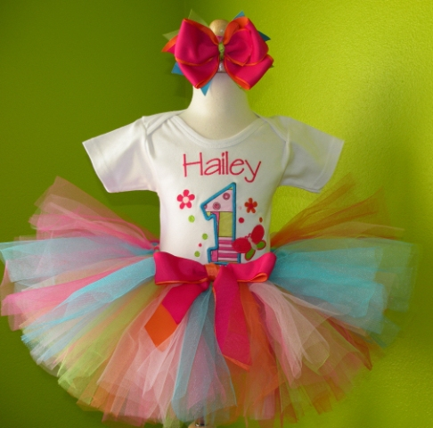 Fancy Fun Birthday Tutu Set