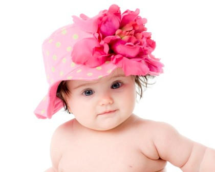 Candy Pink Lime Dot Raspberry Peony Sun Hat-sunhat, infant, baby girl, boutique, flower hat, lime and hot pink