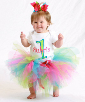 Fruit Punch Baby's First Birthday Tutu Set-birthday party, 1st birthday, tutu set, outfit, infant baby girl, colorful