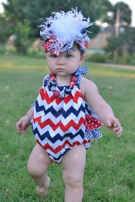 Excellent Baby Girls All American Girl Patriotic 4Th Of July Boutique Hairstyles For Women Draintrainus