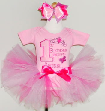 Birthday Princess Tutu Set