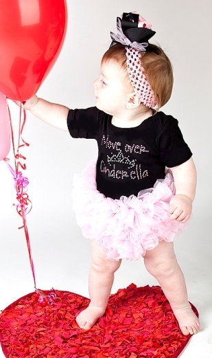 Move Over Cinderella Bling Tutu Onesie