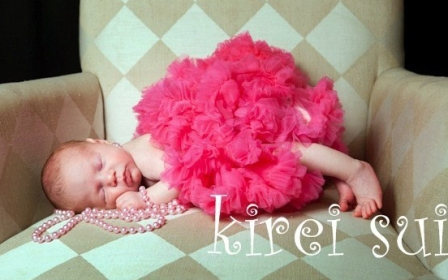 Hot Pink Newborn Pettiskirt-hot pink, newborn, pettiskirt, infant, baby girl