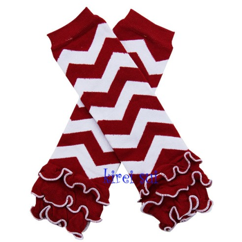 Red White Chevron Leg Warmer-christmas,red,white,chevron,leg warmer,