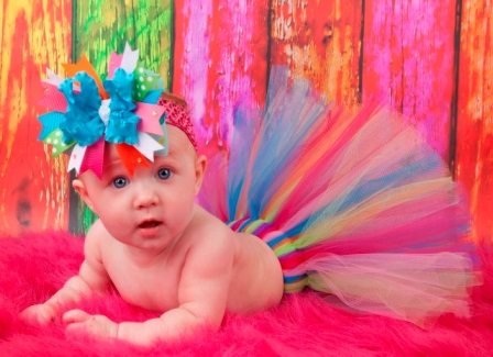 Rainbow Couture Tutu