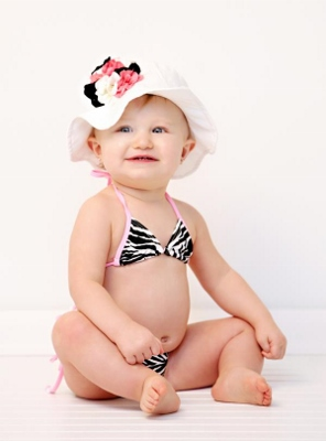 White Sun Hat with Pink Black White Geraniums-summer, sunhat, sun, hat, flower, summer, pool