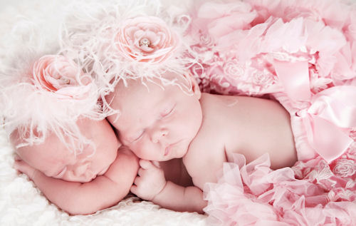 Victorian Elegance Pearls & Feathers Baby Headband-pink, infant, baby girl, boutique flower headband