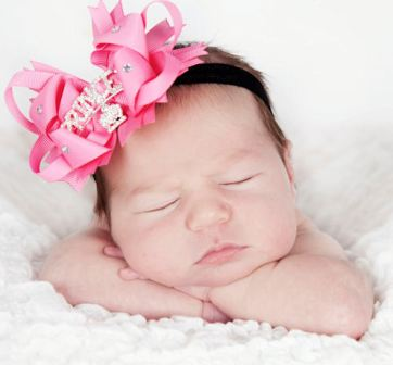 Infant Hair Bows & Headbands