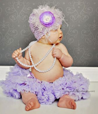 Victorian Romance Lavender & Pearls Baby Crochet Hat-purple, lavender, infant, baby girl boutique, crochet flower hat