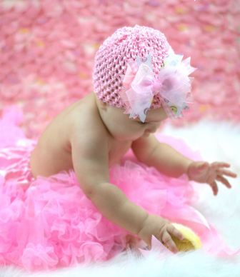 My Little Easter Egg Baby Luxury Crochet Hat-infant, baby girl, boutique, newborn, baby hat, hairbow, spring, pink