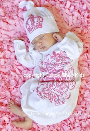Pink Precious Priceless Layette Set