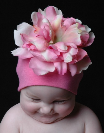 Candy Pink Peony Hat-