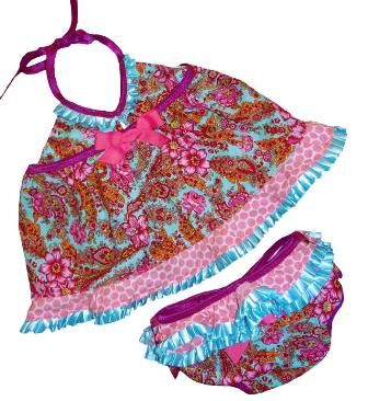 Island Girl Baby Doll Infant Swim Set