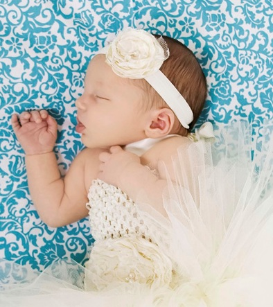Grace Vintage Ivory Flower Headband-infant, baby girl, boutique, flower headband, off white