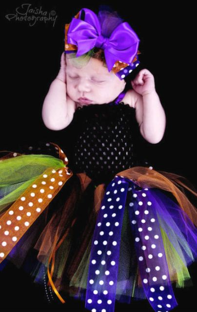 Sweet Treats Halloween Glamour Baby Costume Tutu