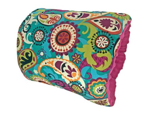 NURSIE® ORIGINAL Paisleys are Perfecto Nursie Arm Breastfeeding Pillow-Teal, Peach, Purple, Paisley, Nursie Arm Pillow, Pillow, Breastfeeding Pillow, breast feeding, support pillow