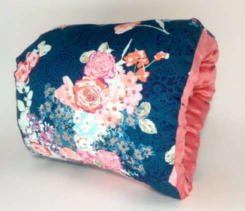 Flora Nursie Arm Breastfeeding Pillow-Flora, Blue Nursie, Nursing Arm Pillow, Arm Pillow, Breastfeeding Pillow, Travel Pillow, Baby Support Pillow, breast feeding, support pillow, baby pillow, pink, floral