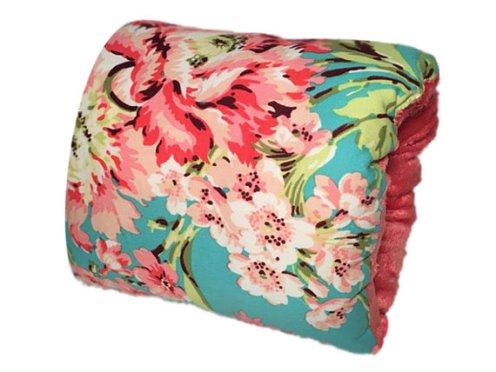NURSIE® ORIGINAL Bliss Baby Nursie Arm Breastfeeding Pillow-Teal, Coral Breastfeeding Pillow, Arm Pillow, Travel Pillow, nursing, breast feeding, baby, floral, nursing mom