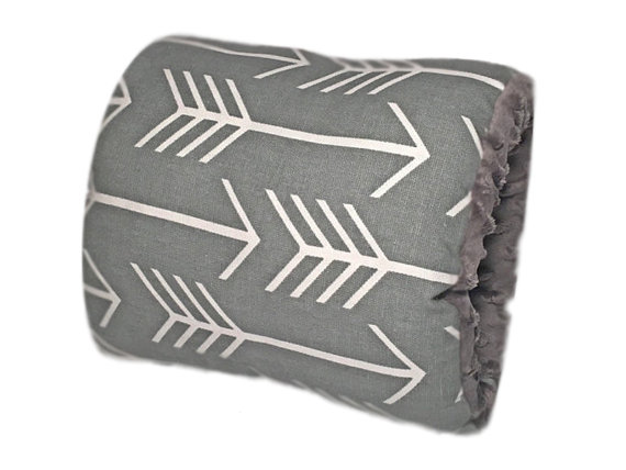 NURSIE® ORIGINAL Lucky Southern Nursie Arm Breastfeeding Pillow-Gray and White, Arrow, Nursing Pillow, Nursing Arm Pillow,  Support Pillow, Nursie, breast feeding, breast feeding pillow, nursing pillow