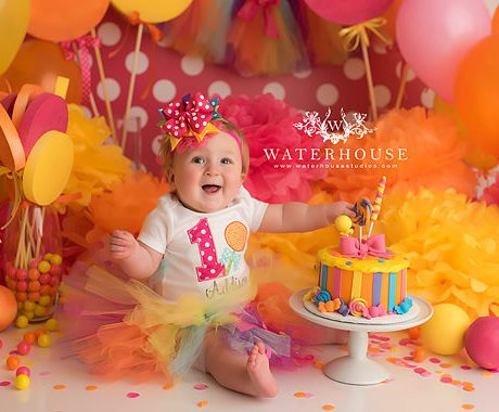 Colorful Lollipop Candy First Birthday Tutu Outfit-colorful, rainbow, candy, lollipop, sucker, birthday, birthday party, 1st, first, 1st birthday outfit, cirthday party, candy outfit, tutu, set