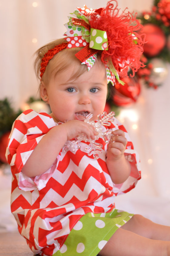 Red & Green Chevron Christmas Pheasant Dress-red, green, chevron, christmas, dress, outfit