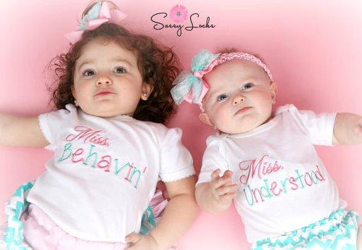 Little Sister Miss Behavin Understood Outfit Sets