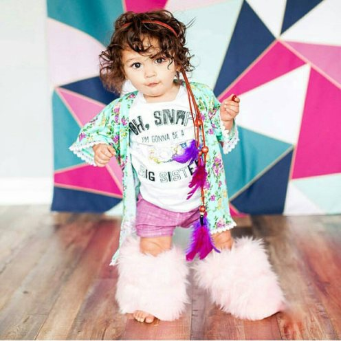 Mint Floral Baby Girl Kimono-infant, baby, girl, boutique, trendy, trendy clothes, floral, lavender, cute