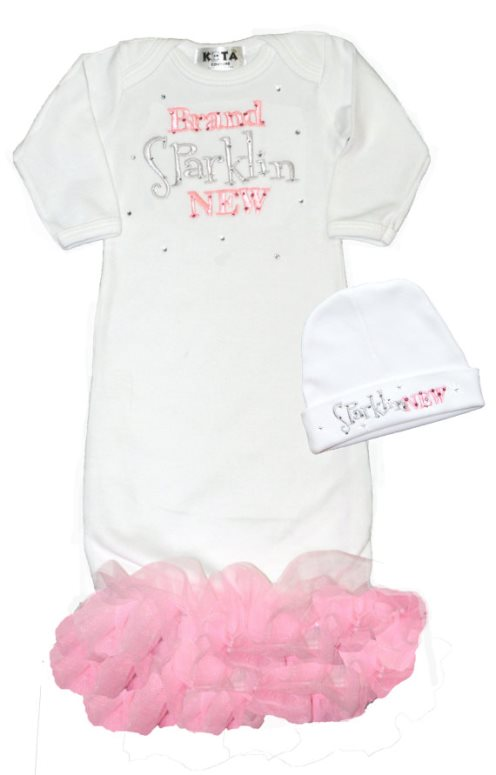 Newborn Baby Girl Boutique Clothing Gowns Outfits Take