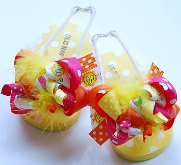 Funky Fun Summertime Flip Flops