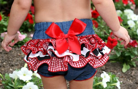 Rodeo Cowgirl Ruffle Bloomer