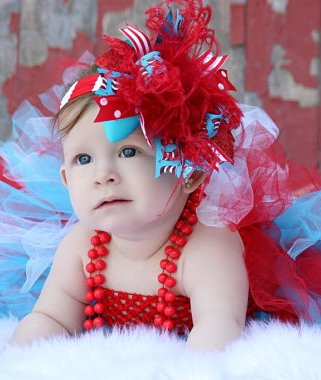 Cat in the Hat - Over-the-Top Hair Bow Headband