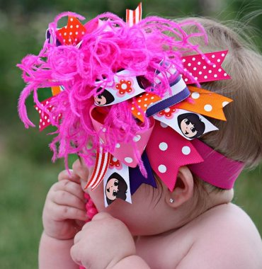Dora the Explorer - Over-the-Top Hair Bow Headband