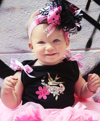 Princess Pirate - Over-the-Top Hair Bow Headband
