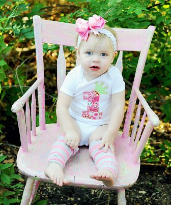 1st Birthday Princess Onesie Hair Bow Outfit Set-pink, green, birthday, party