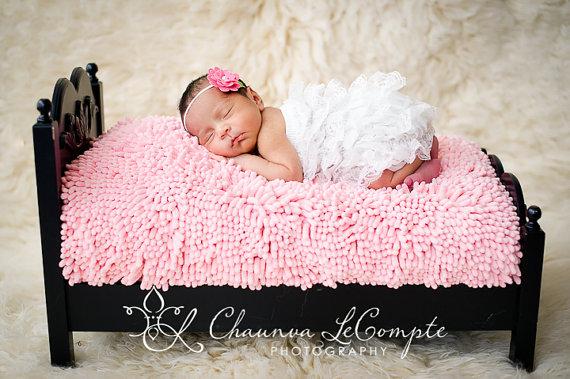 White Lace Petti Romper-infant, baby girl, boutique, lace, ruffle, newborn