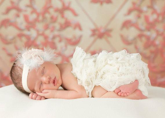 White Lace Ruffle Petti Romper-white, pettiromper, newborn