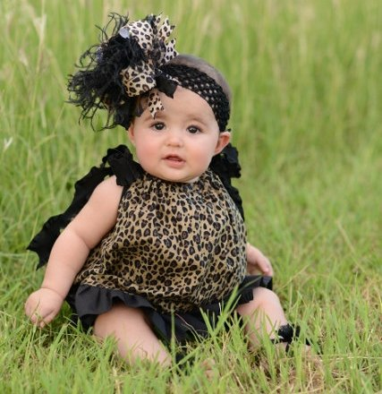 Black Leopard Pillowcase Dress