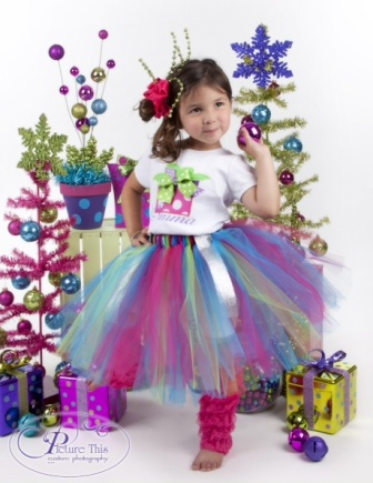 Sugar Sweet Christmas Tutu