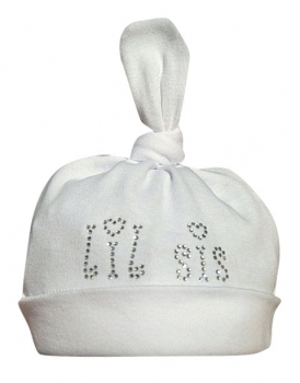 Lil Sis Baby Girl Bling Hat-infant, baby, newborn, girl, bling, little sister