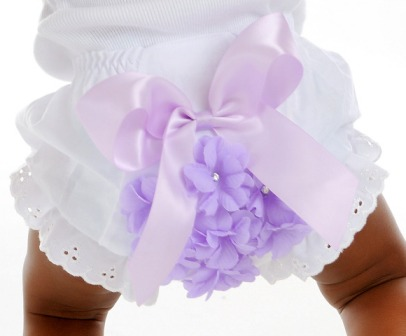 Lavender Blossom Flower Bloomers