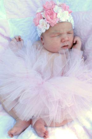 Newborn Classic Baby Girl Tutu-tutu