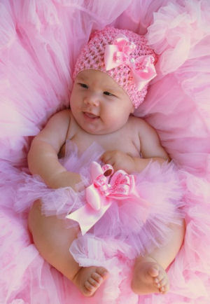 Miss Princess Baby Pink Tutu