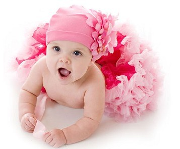 Princess Raspberry Pink Newborn Pettiskirt