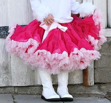 Raspberry & Pink Pettiskirt-