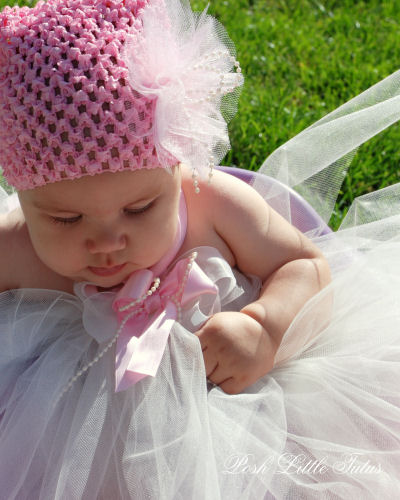 Elegant Pearls Fancy Tutu Dress