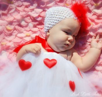 Everthing's Sweet Little Hearts Valentine Tutu Dress
