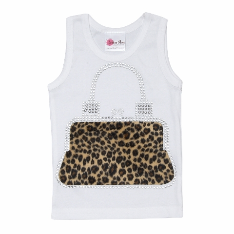 Trendy Cheetah Purse Tank Top