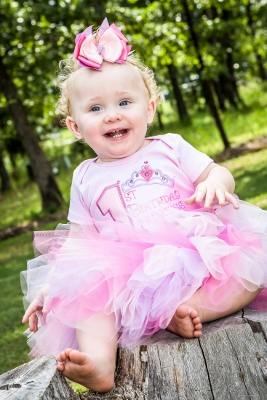 Lavender Pink Princess First Birthday Tutu Outfit Set